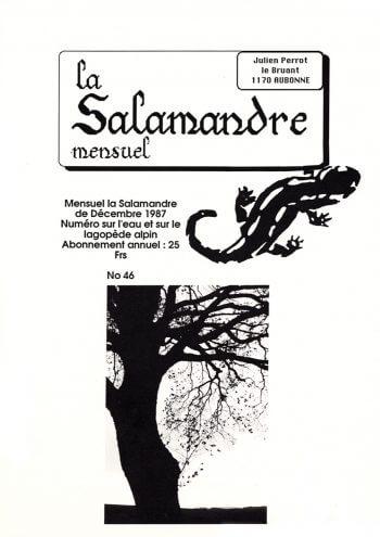Couverture de La Salamandre n°46