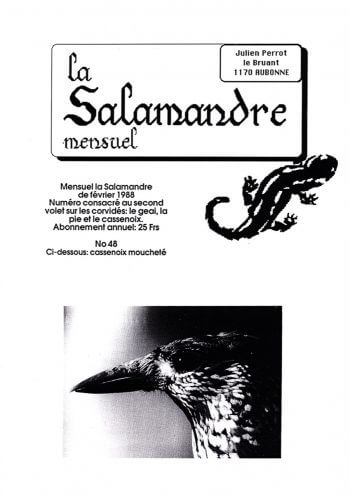 Couverture de La Salamandre n°48