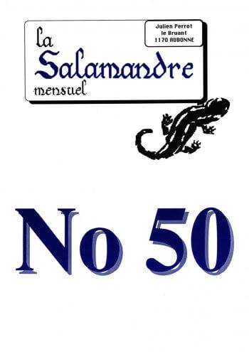 Couverture de La Salamandre n°50
