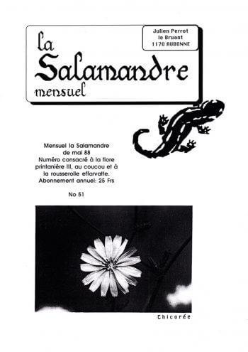 Couverture de La Salamandre n°51