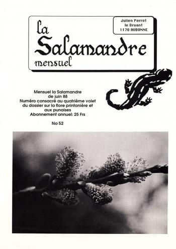 Couverture de La Salamandre n°52