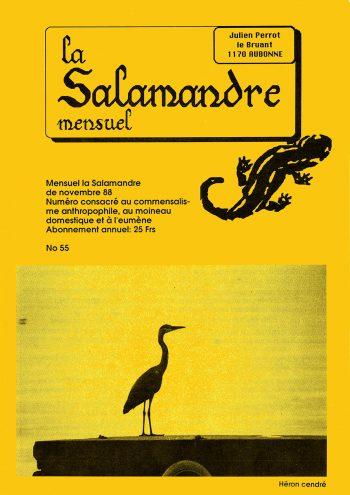 Couverture de La Salamandre n°55