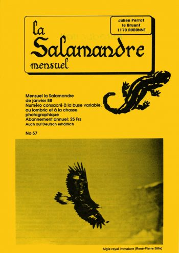 Couverture de La Salamandre n°57