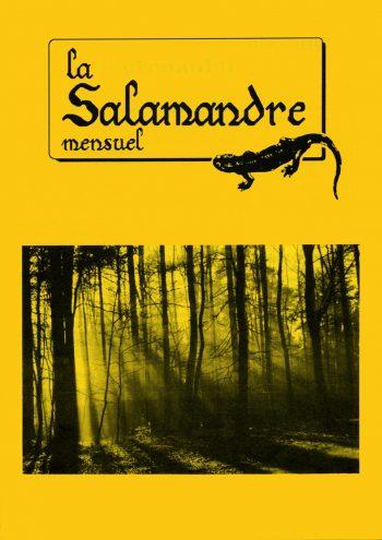 Couverture de La Salamandre n°59