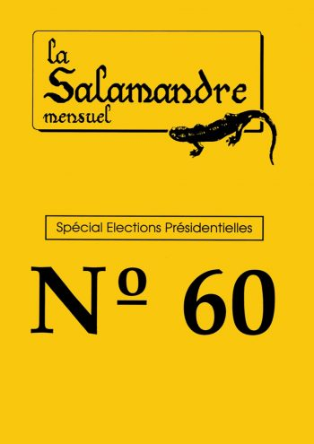Couverture de La Salamandre n°60