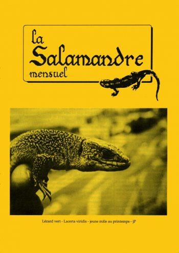 Couverture de La Salamandre n°62