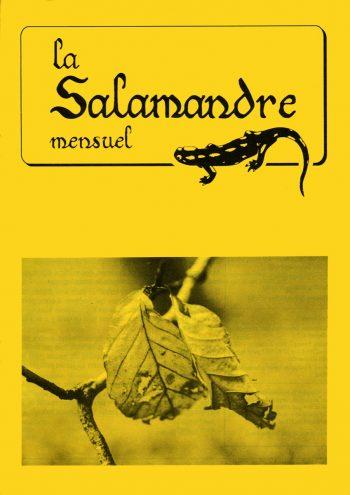 Couverture de La Salamandre n°63