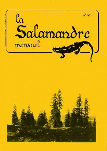 Couverture de La Salamandre n°68