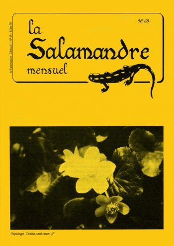 Couverture de La Salamandre n°69