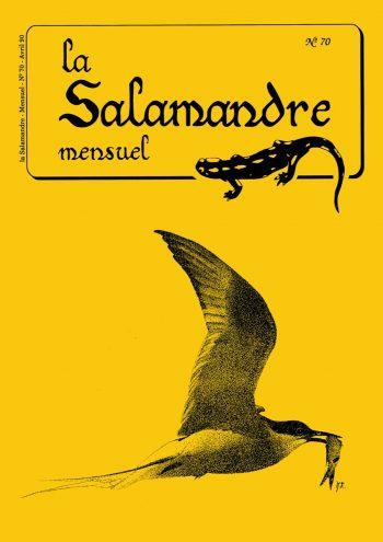 Couverture de La Salamandre n°70