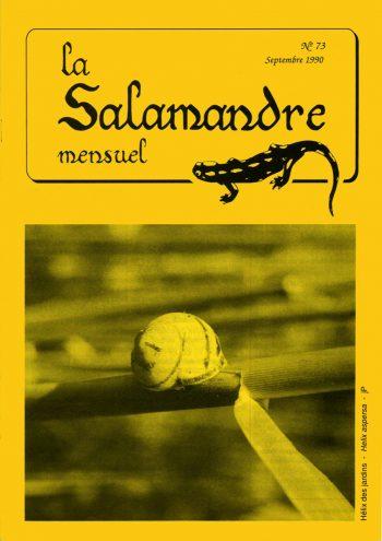 Couverture de La Salamandre n°73