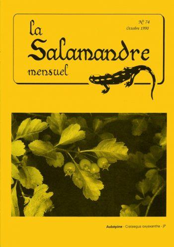 Couverture de La Salamandre n°74