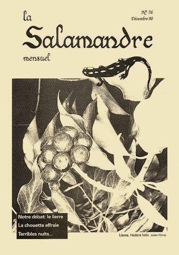 Couverture de La Salamandre n°76