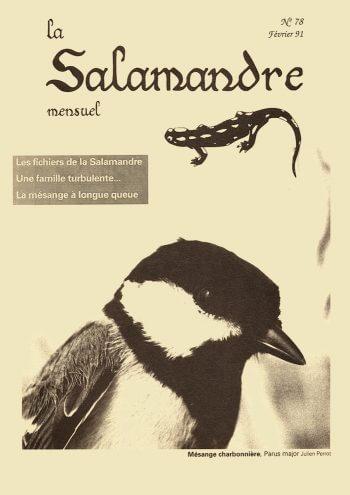 Couverture de La Salamandre n°78