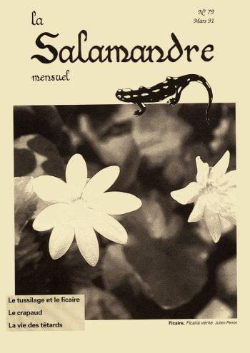 Couverture de La Salamandre n°79