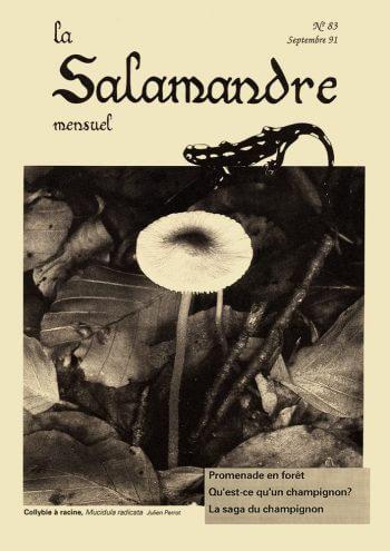 Couverture de La Salamandre n°83