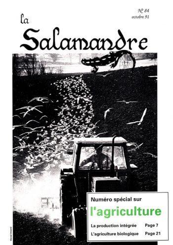 Couverture de La Salamandre n°84