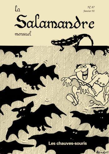 Couverture de La Salamandre n°87