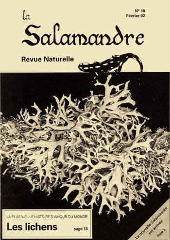 Couverture de La Salamandre n°88
