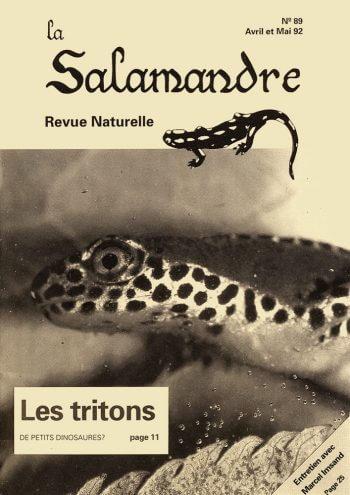 Couverture de La Salamandre n°89