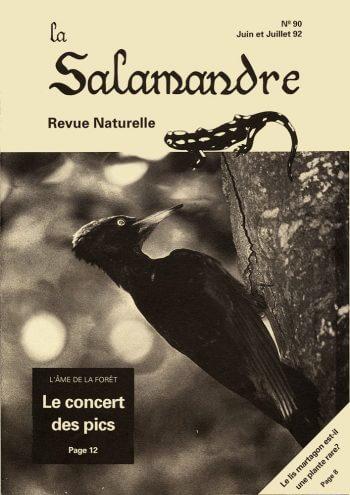 Couverture de La Salamandre n°90