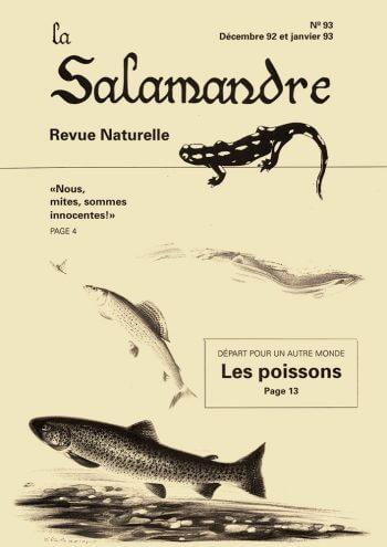 Couverture de La Salamandre n°93
