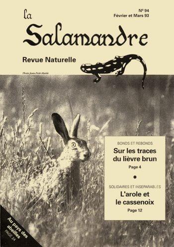 Couverture de La Salamandre n°94