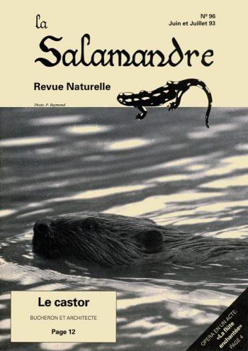 Couverture de La Salamandre n°96