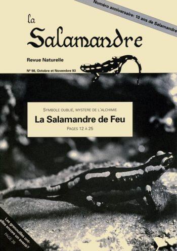 Couverture de La Salamandre n°98