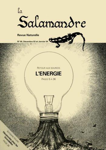 Couverture de La Salamandre n°99