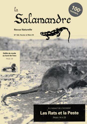 Couverture de La Salamandre n°100