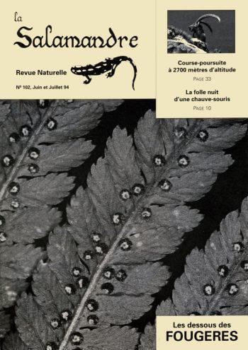 Couverture de La Salamandre n°102