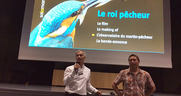 500 personnes à la Fête du martin-pêcheur