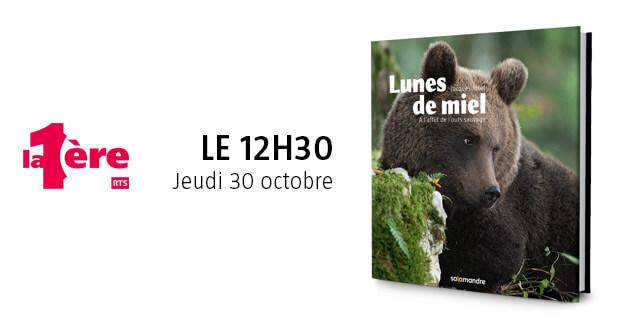 Jacques Ioset invité du 12h30 sur La 1ère jeudi 30 octobre 2014
