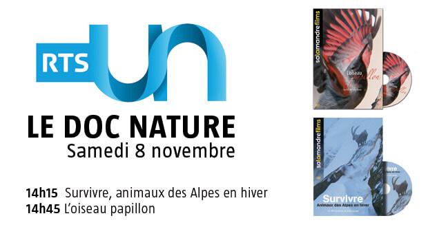 Le doc nature sur RTS Un samedi 8 novembre 2014