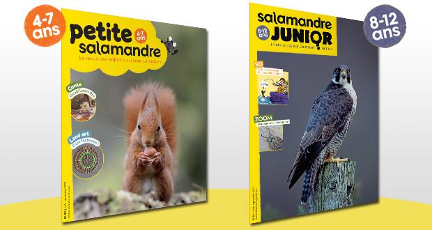 La Petite Salamandre (4-7 ans) et La Salamandre Junior (8-12 ans)