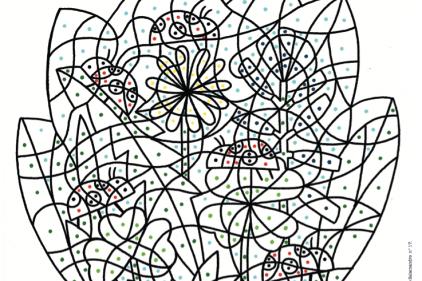 Coloriage Lettre Printemps.La Petite Salamandre Les Petits Signes Du Printemps